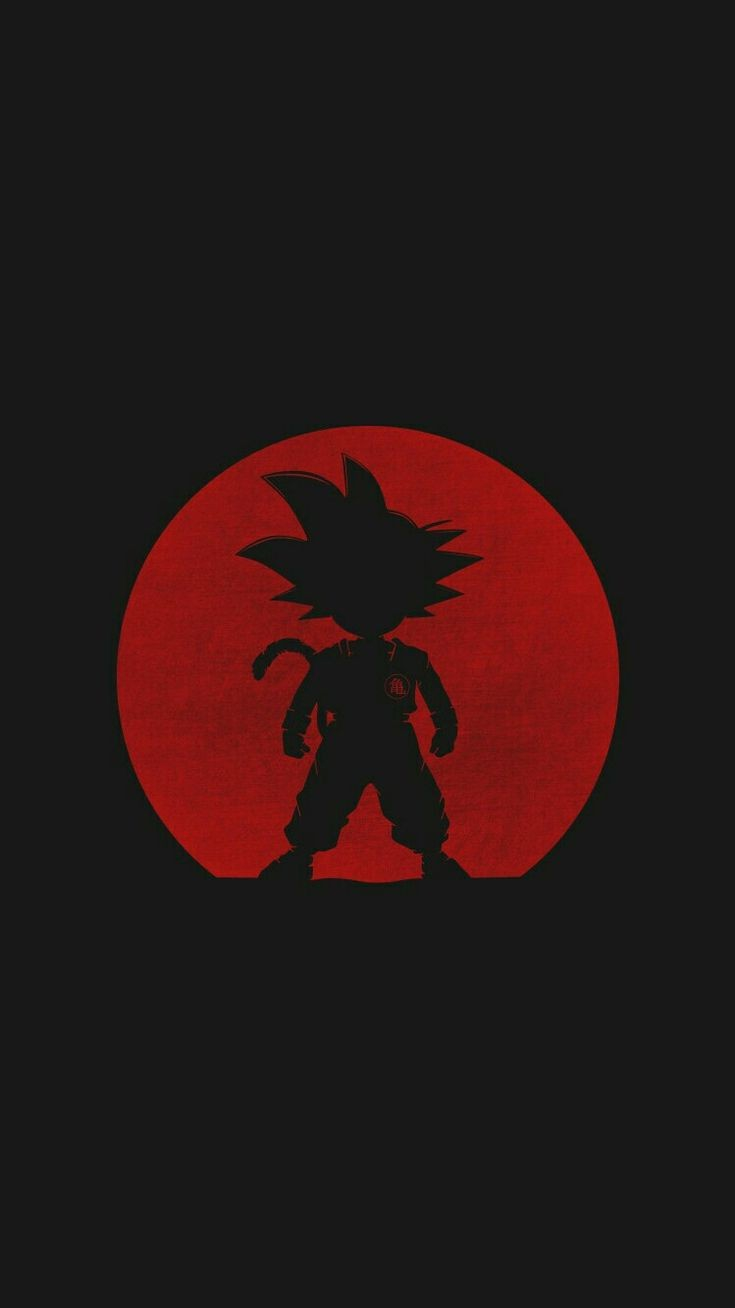 Amoled Goku Son iPhone Wallpaper
