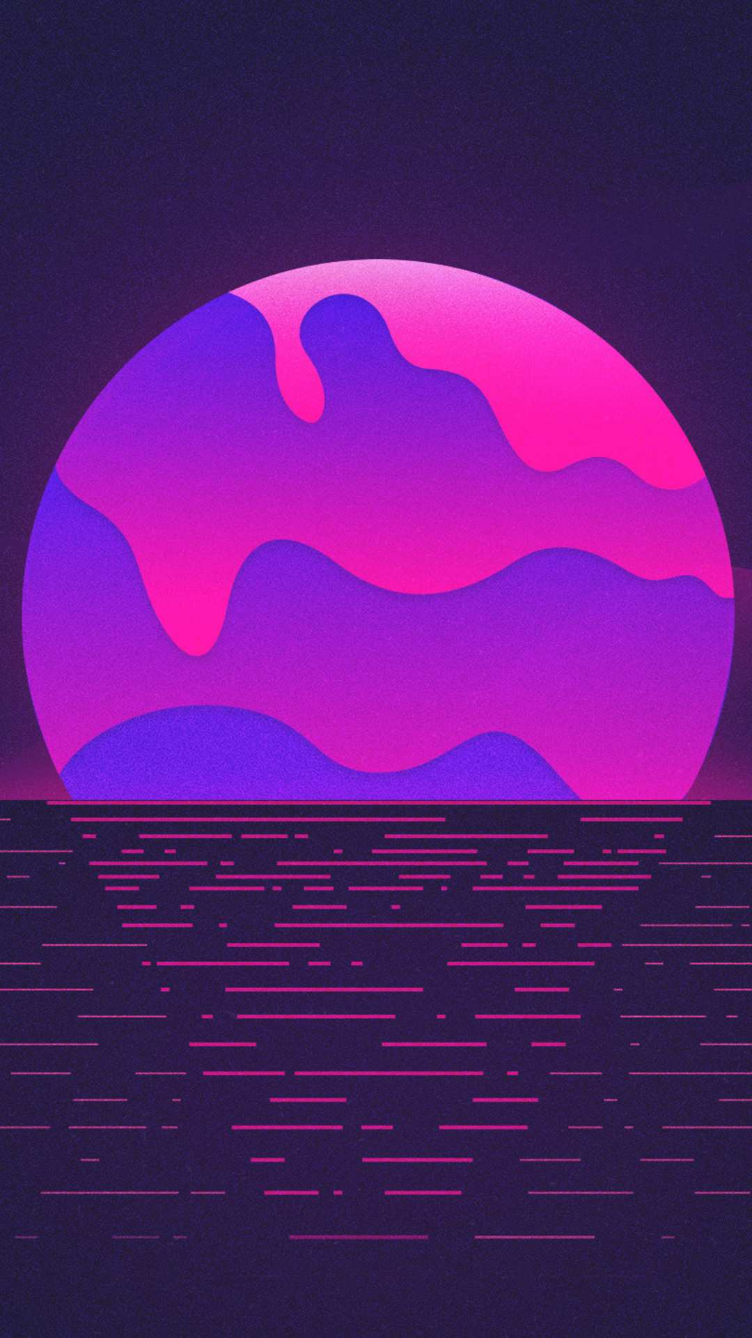 Amoled Sunrise iPhone Wallpaper