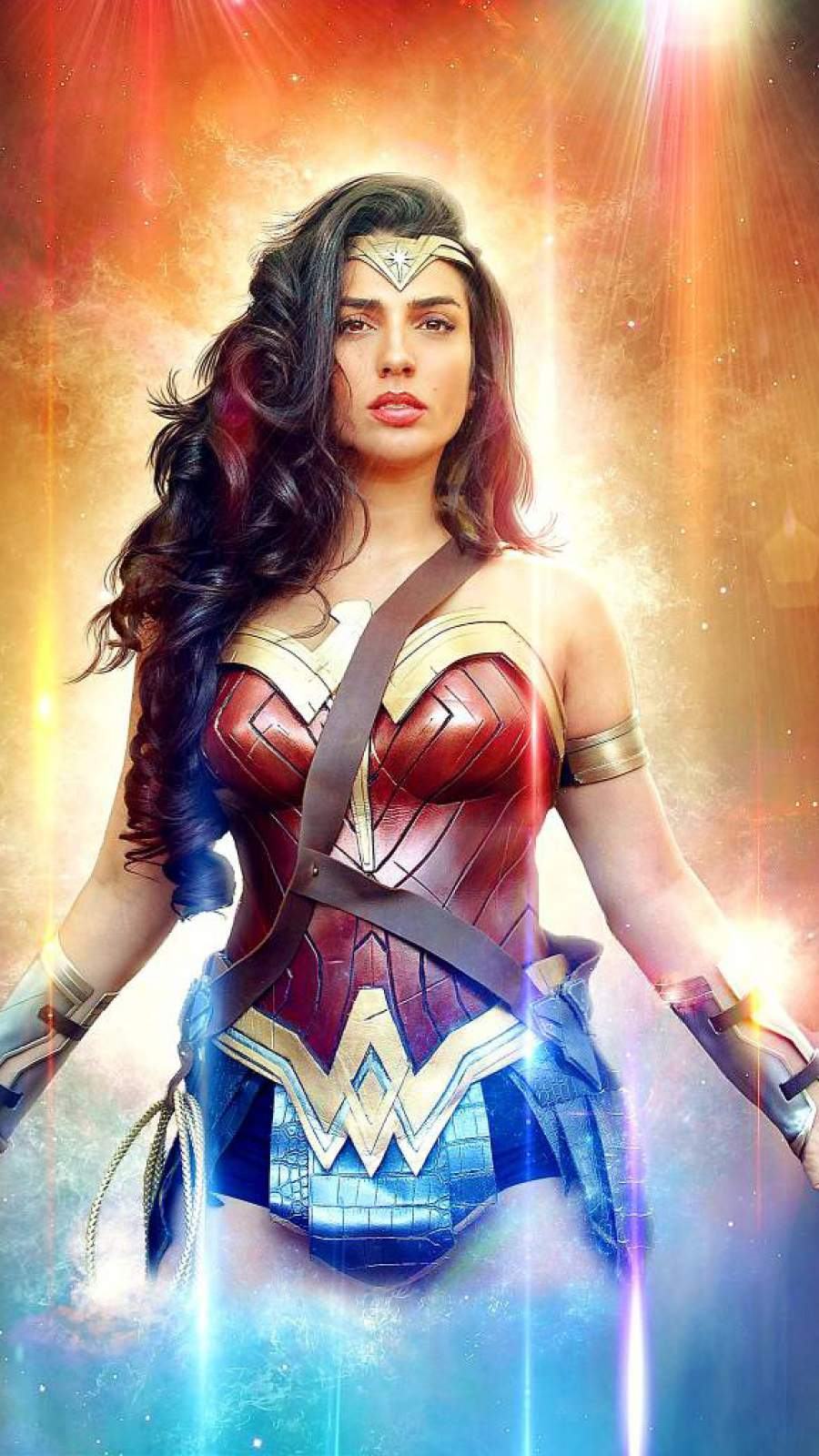 Beautiful Wonder Woman iPhone Wallpaper
