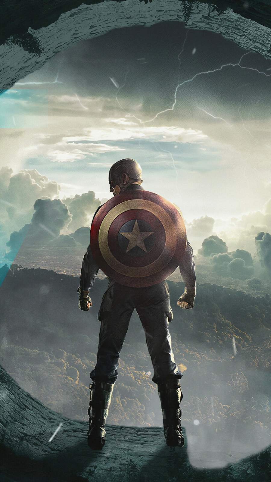 Captain America 4K iPhone Wallpaper
