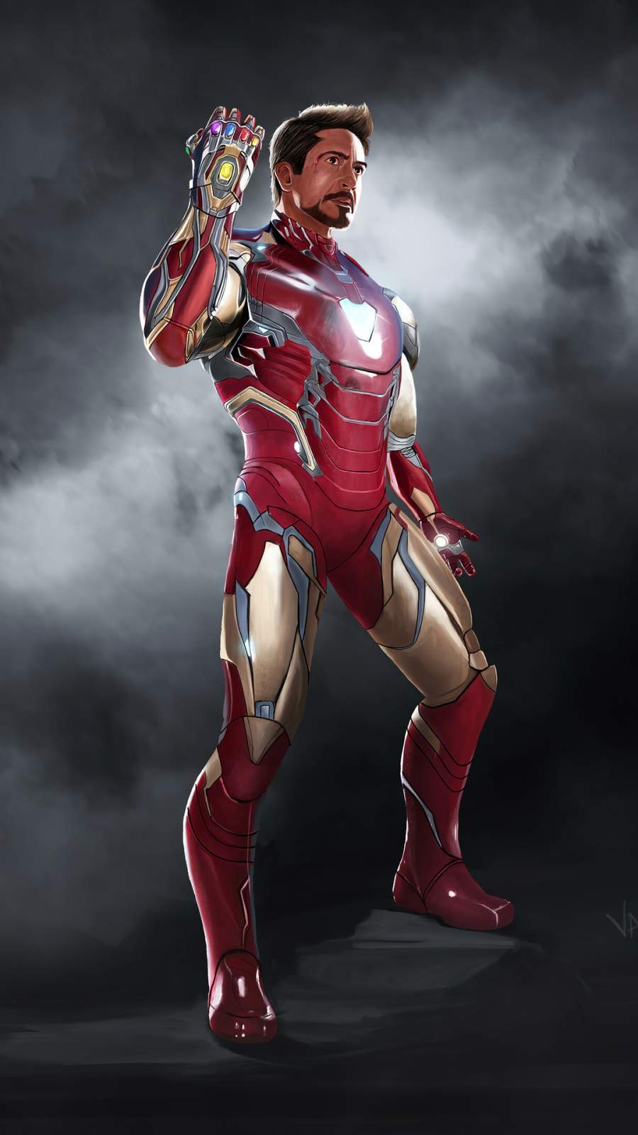 Iron Man 2020 iPhone Wallpaper