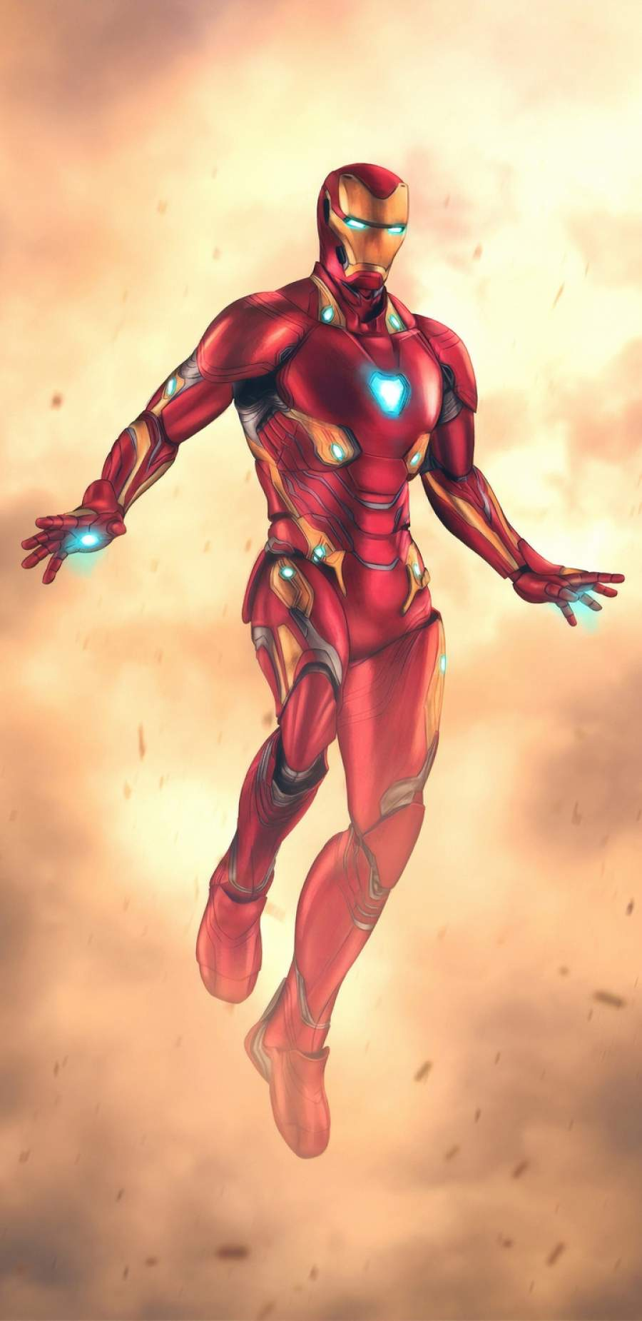 Iron Man 4k Art iPhone Wallpaper