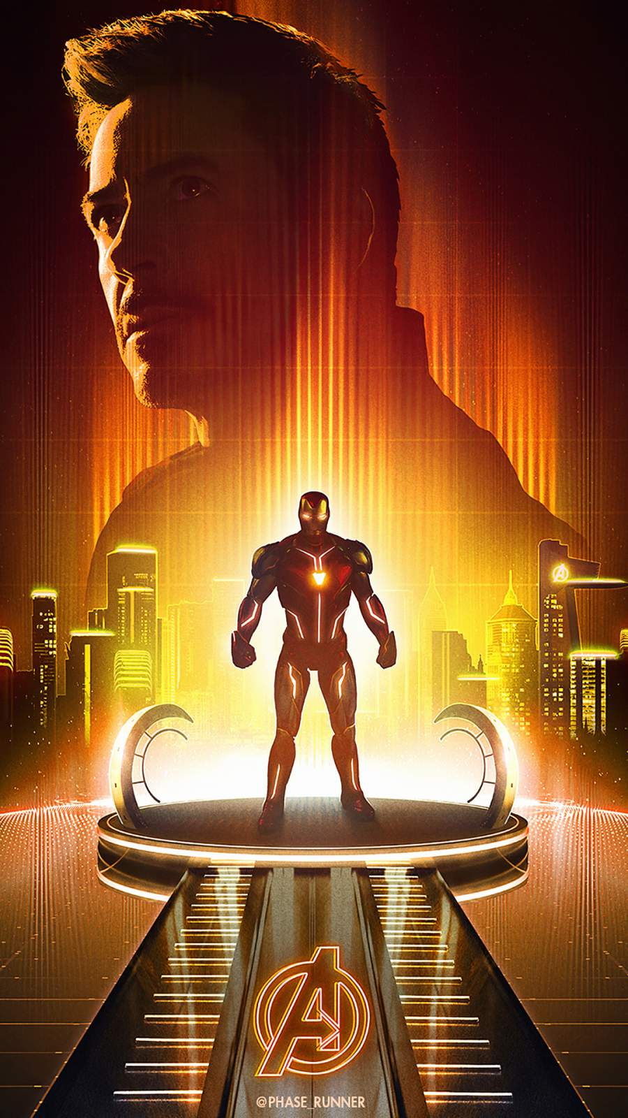 Iron Man Unforgettable iPhone Wallpaper