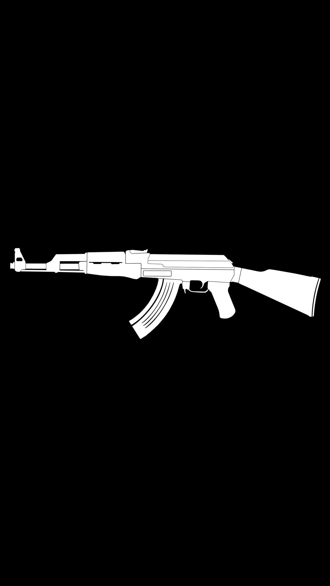 AK47 Gun iPhone Wallpaper