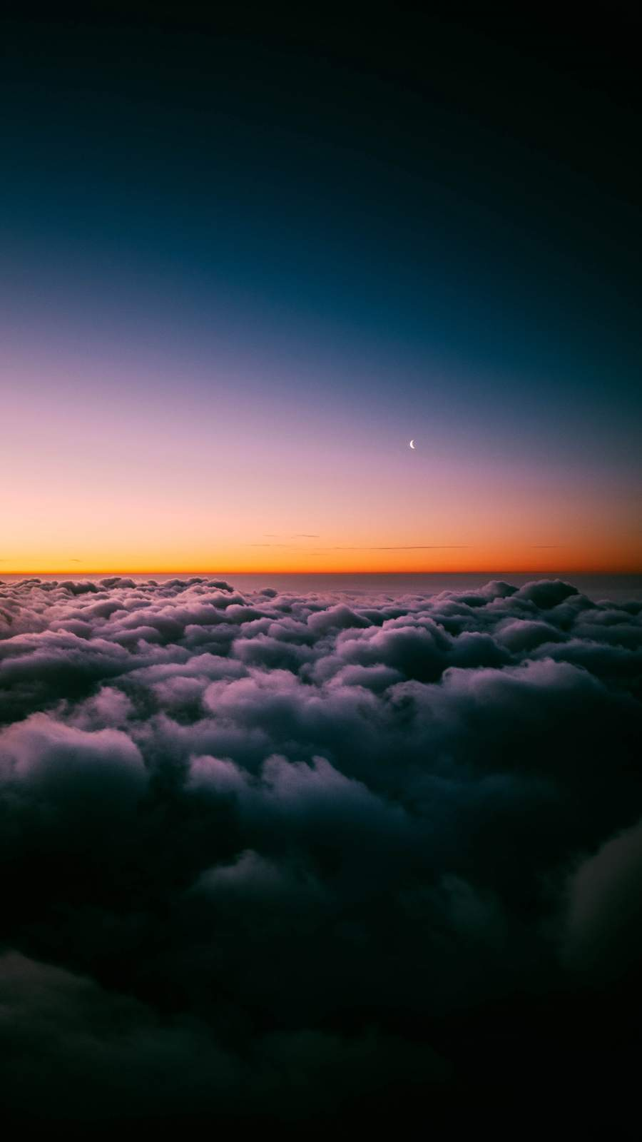 Above Clouds iPhone Wallpaper