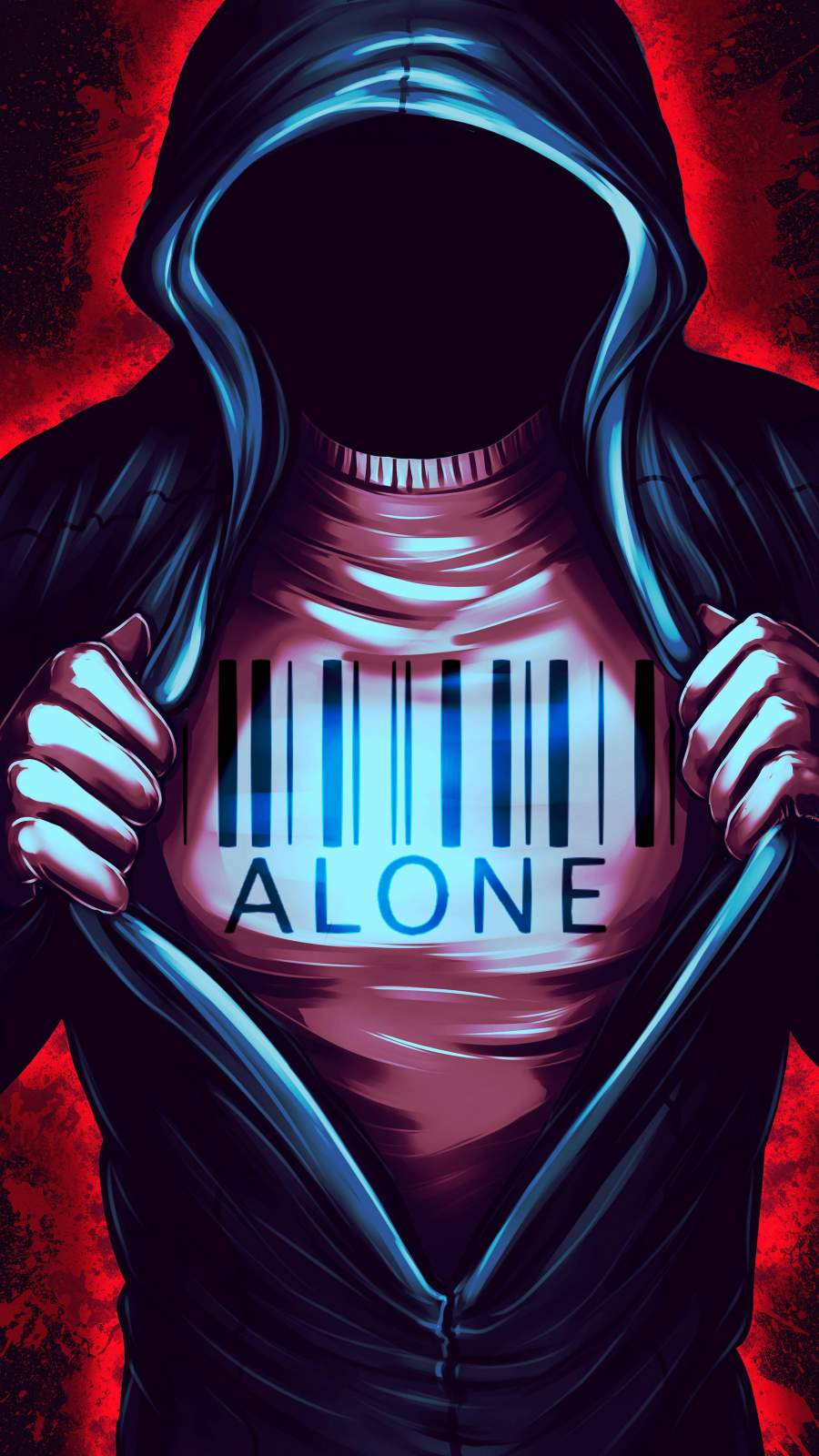 Alone iPhone Wallpaper 2