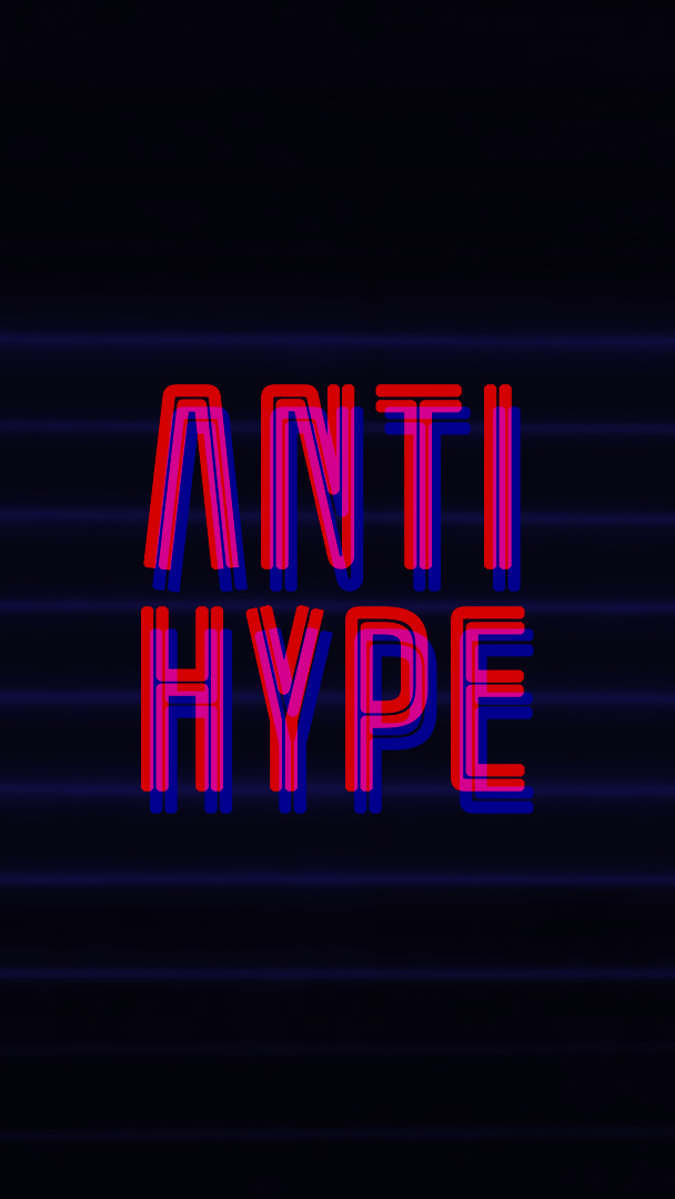 Anti Hype iPhone Wallpaper