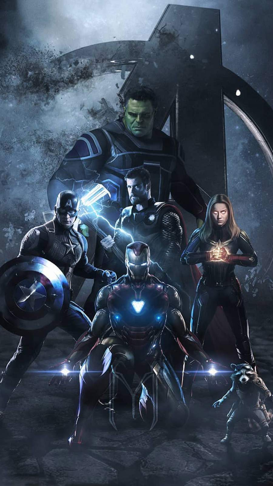 Avengers Endgame Team iPhone Wallpaper 1
