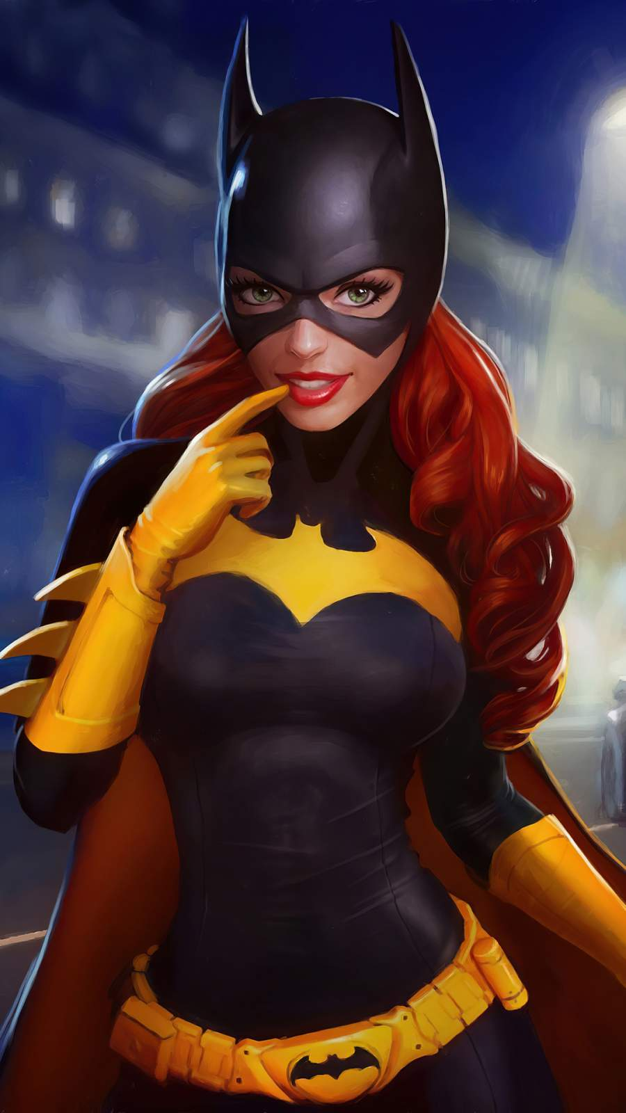 Batgirl Cute iPhone Wallpaper