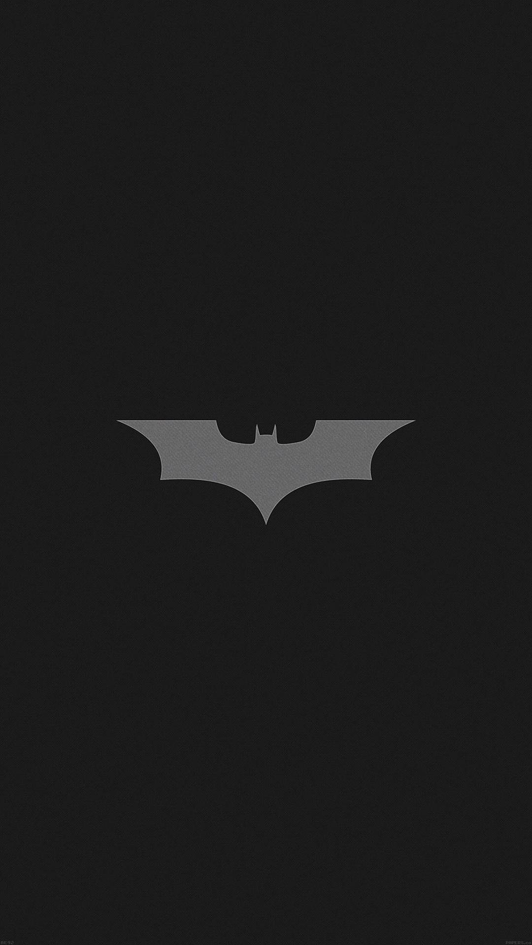 Batman Logo Dark iPhone Wallpaper