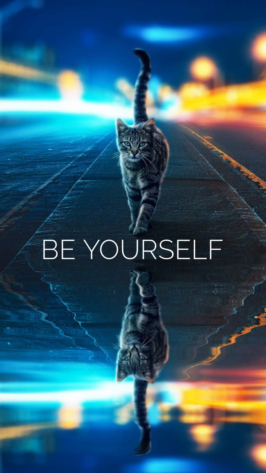 Be Yourself iPhone Wallpaper2