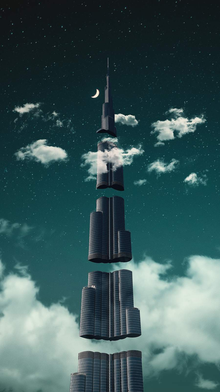 Beyond the Clouds iPhone Wallpaper