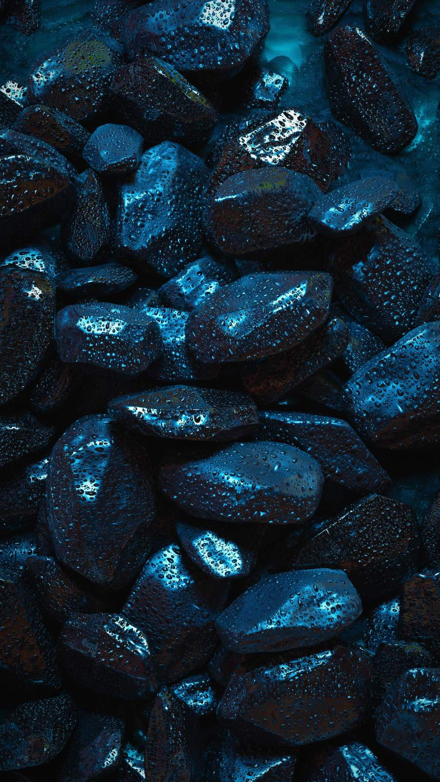 Black Stones iPhone Wallpaper