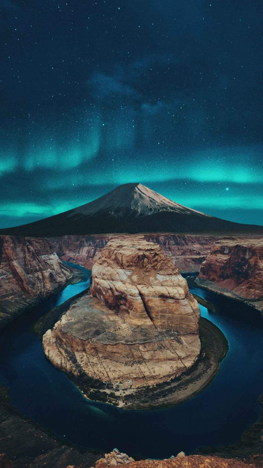Blue night iPhone Wallpaper