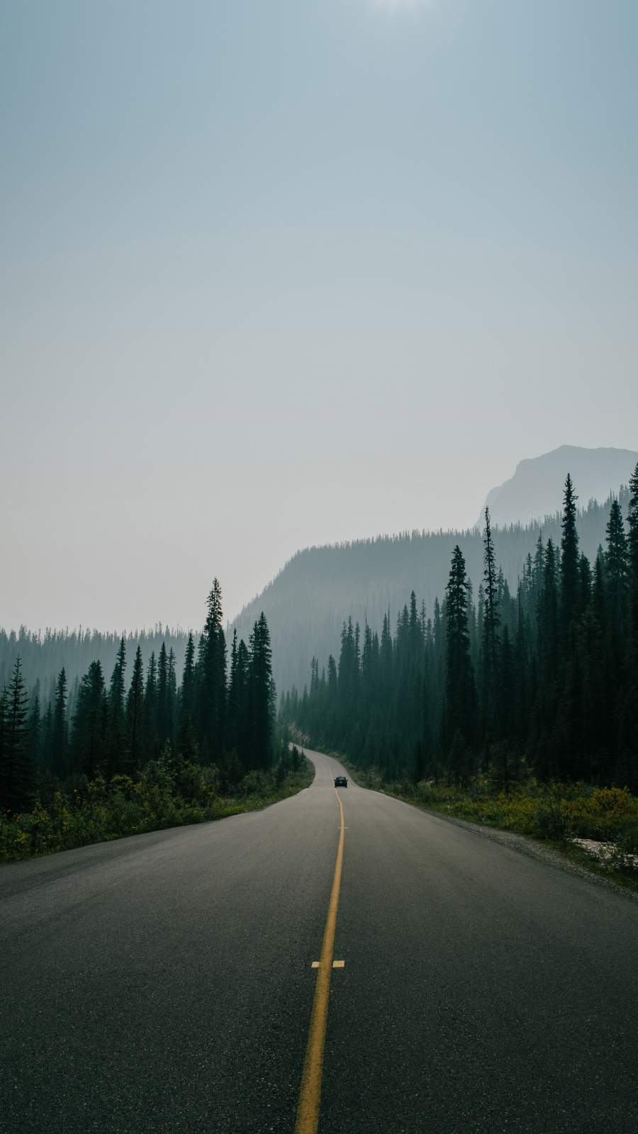 Canadian Roads iPhone Wallpaper 1