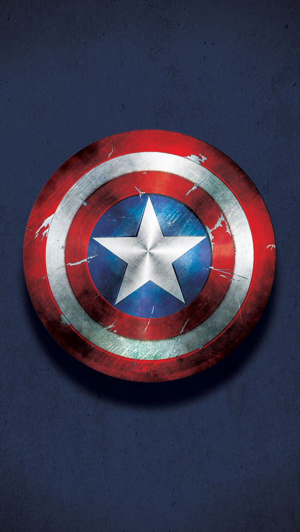 Captain America Shield iPhone Wallpaper