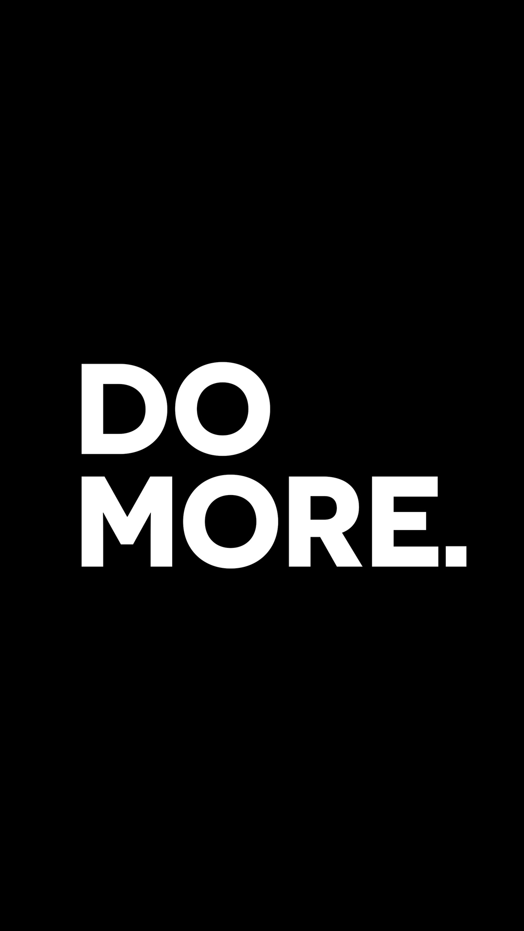 Do More iPhone Wallpaper