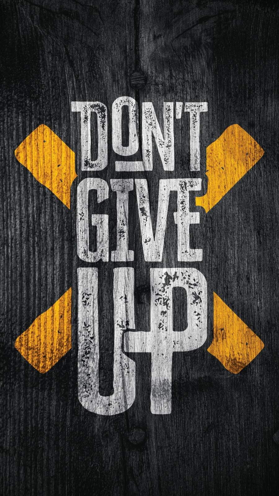 Dont Give Up iPhone Wallpaper