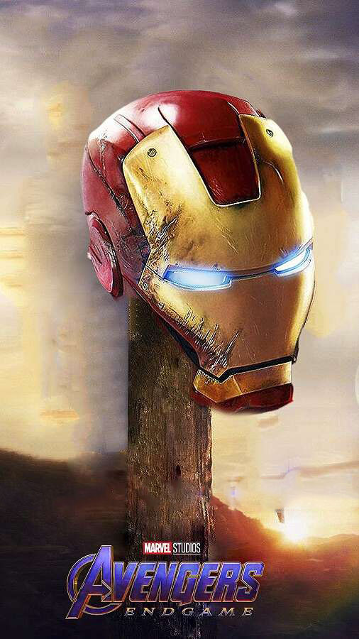 Endgame Iron Man iPhone Wallpaper 2
