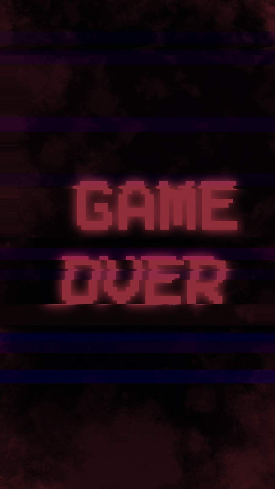 Game Over iPhone Wallpaper 1