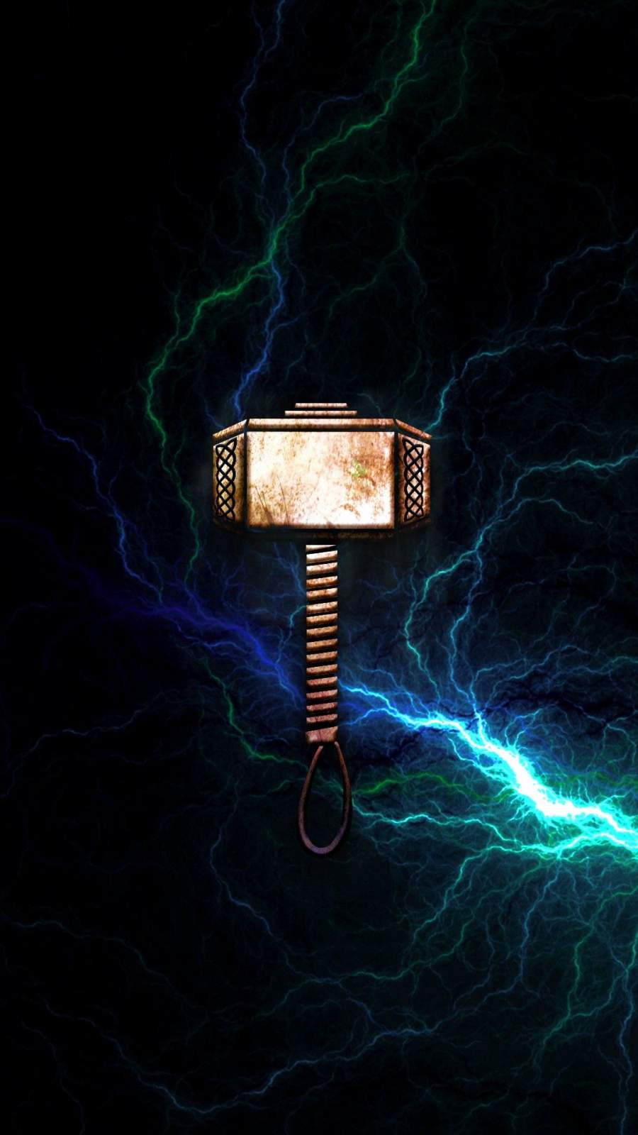 Hammer of Thor iPhone Wallpaper