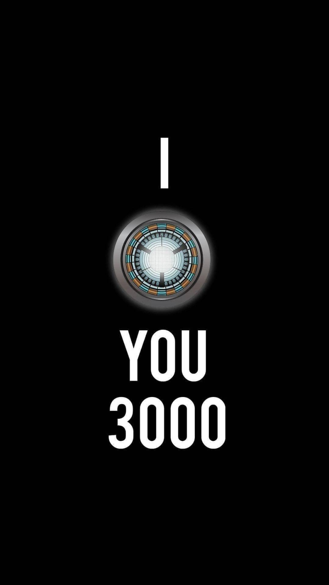 I love You 3000 Times iPhone Wallpaper