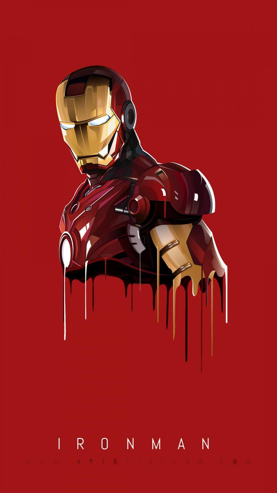Iron Man Art iPhone Wallpaper0