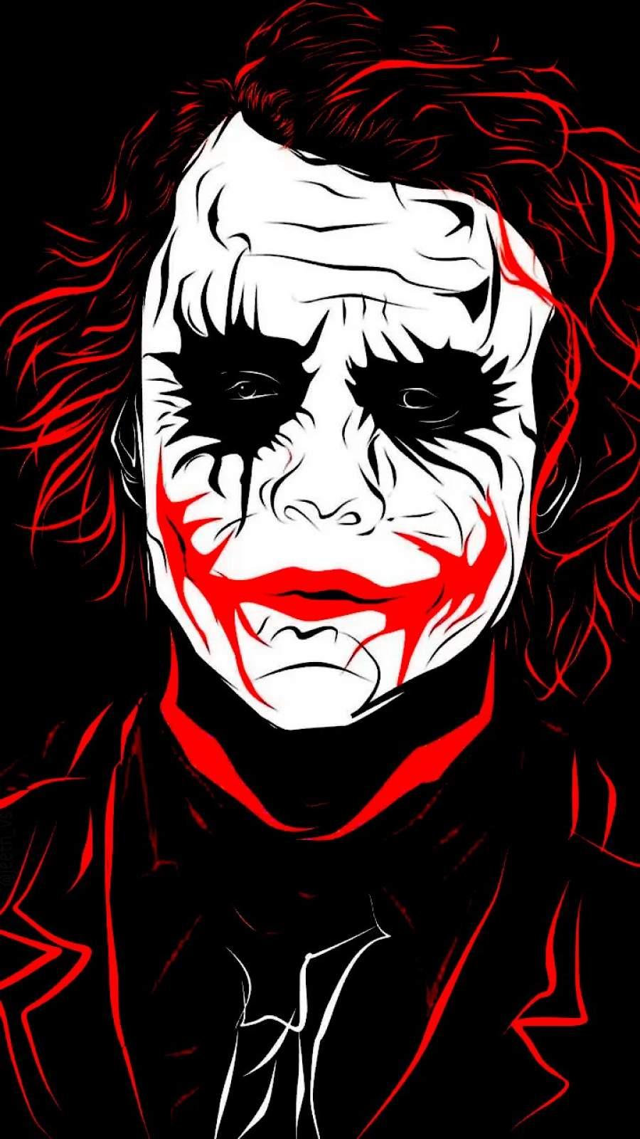 Joker Dark iPhone Wallpaper