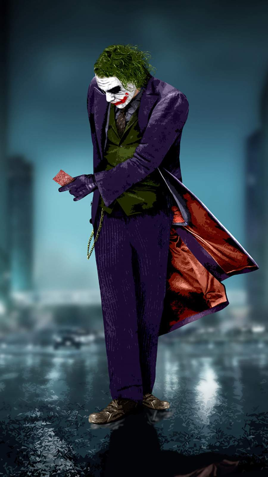Joker iPhone Wallpaper 1