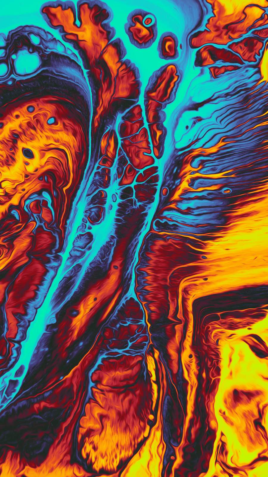 Lava Water iPhone Wallpaper - iPhone ...