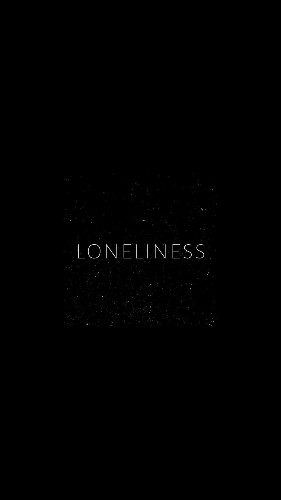 Loneliness iPhone Wallpaper 1