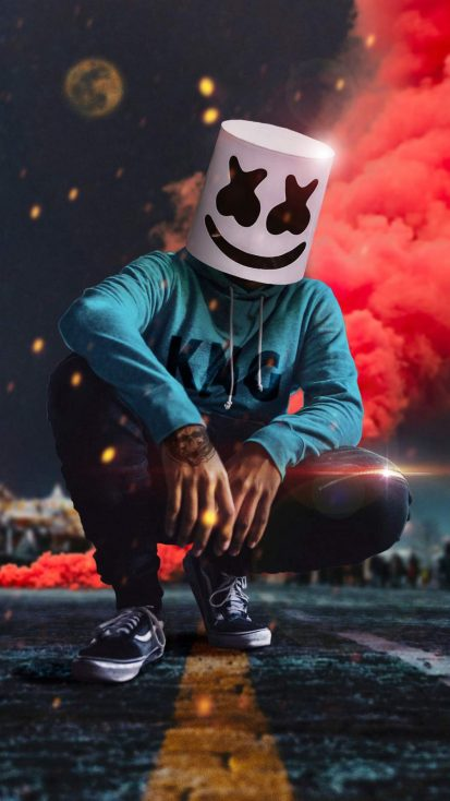 Marshmello Colors iPhone Wallpaper