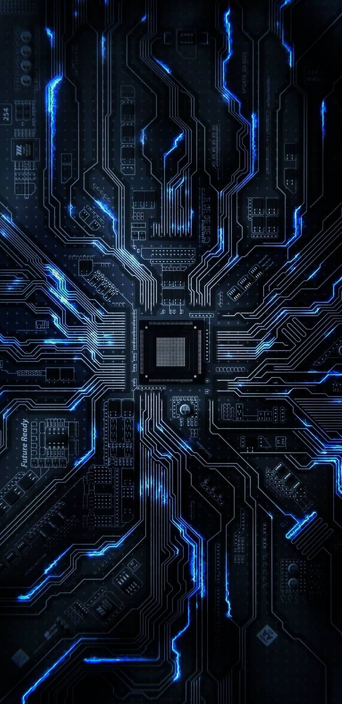 Mobile Motherboard iPhone Wallpaper