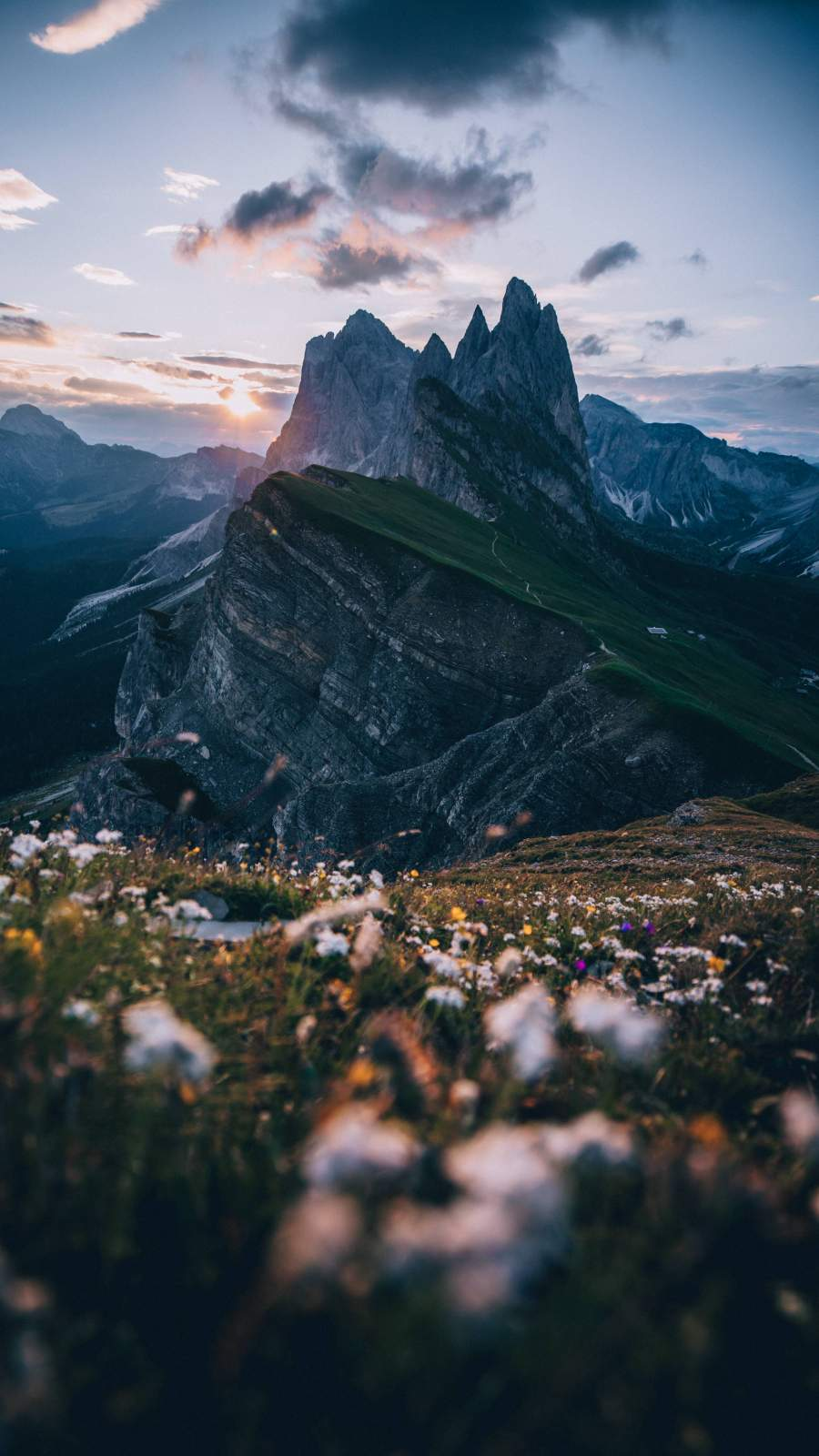 Mountains Alps iPhone Wallpaper
