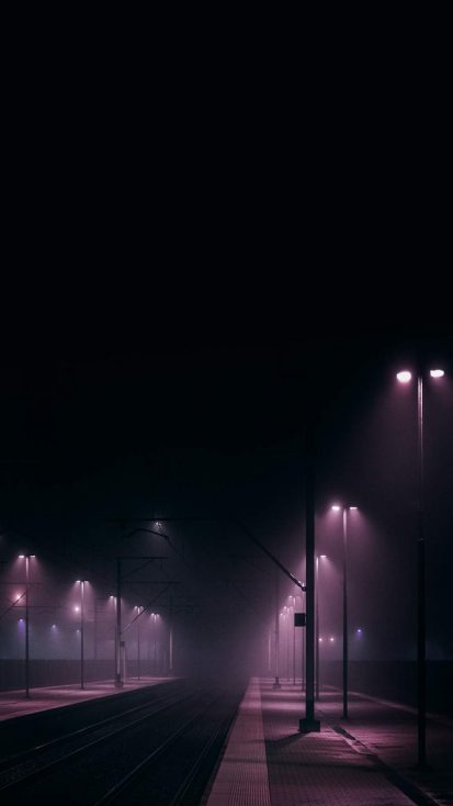 Night Lights iPhone Wallpaper