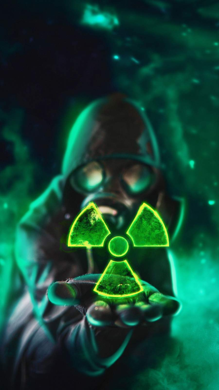 Nuclear Dangerous iPhone Wallpaper