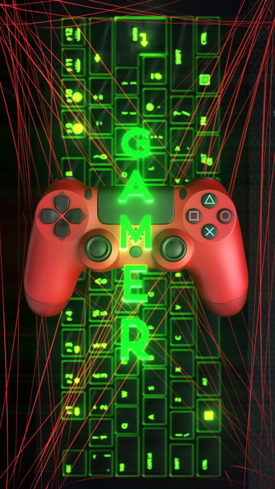 PS Gamer iPhone Wallpaper