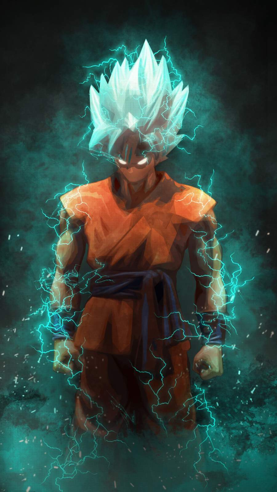 Super Saiyan God iPhone Wallpaper