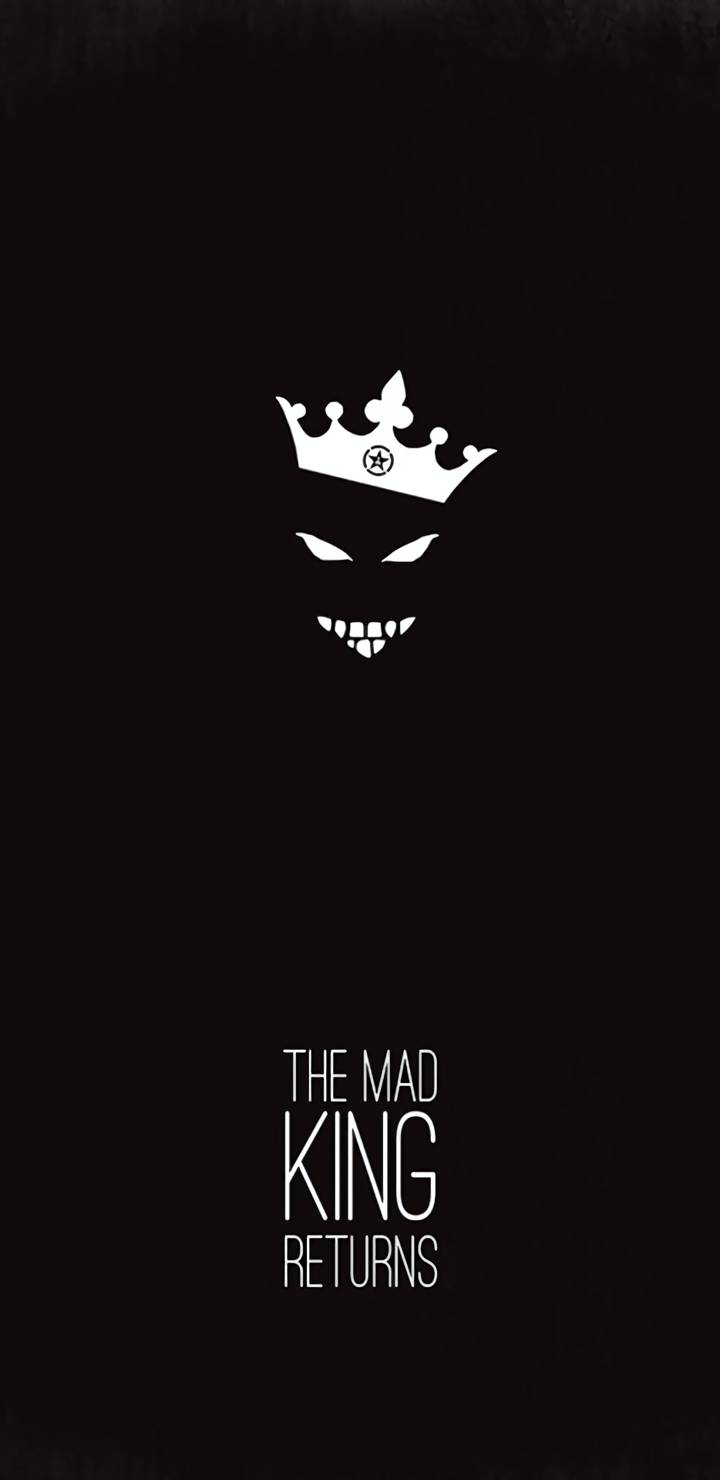 The Mad King Returns iPhone Wallpaper