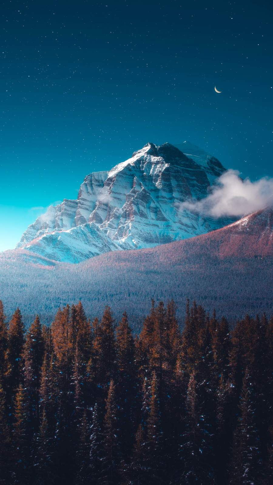 The Rockies Mountains iPhone Wallpaper