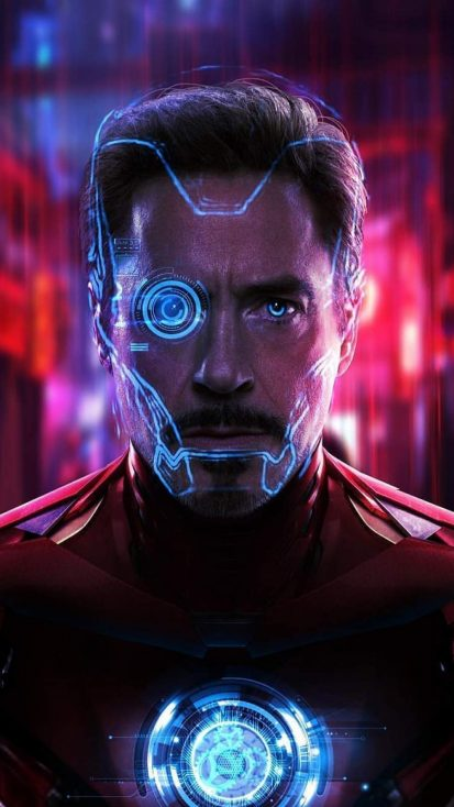 Tony Stark Iron Man iPhone Wallpaper