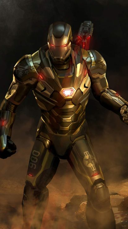 War Machine 4K iPhone Wallpaper