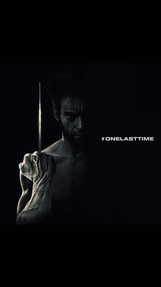 Wolverine One Last Time iPhone Wallpaper