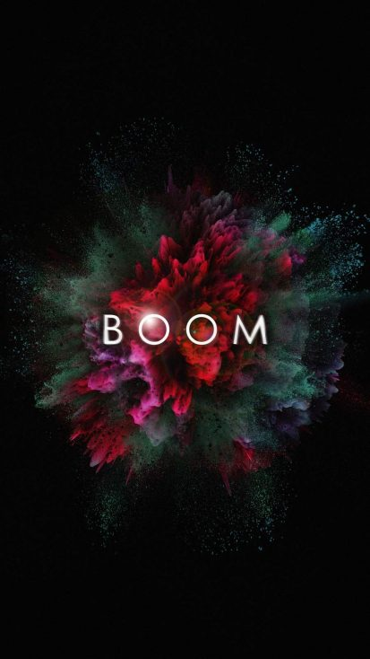Boom iPhone Wallpaper