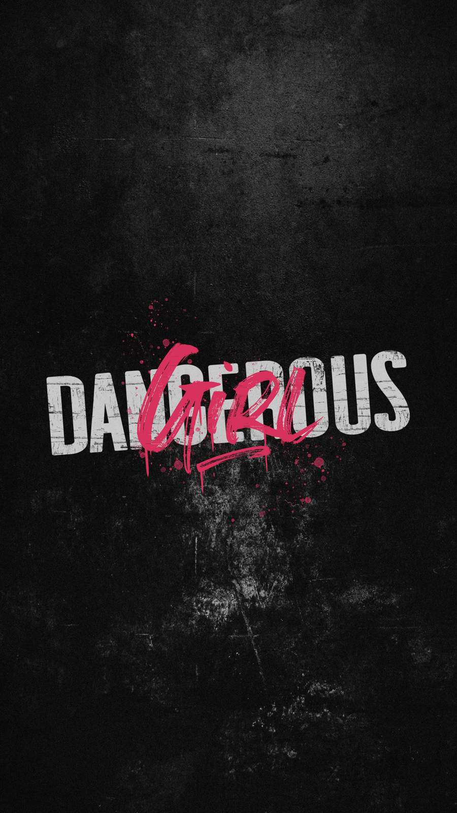 Dangerous Girl iPhone Wallpaper