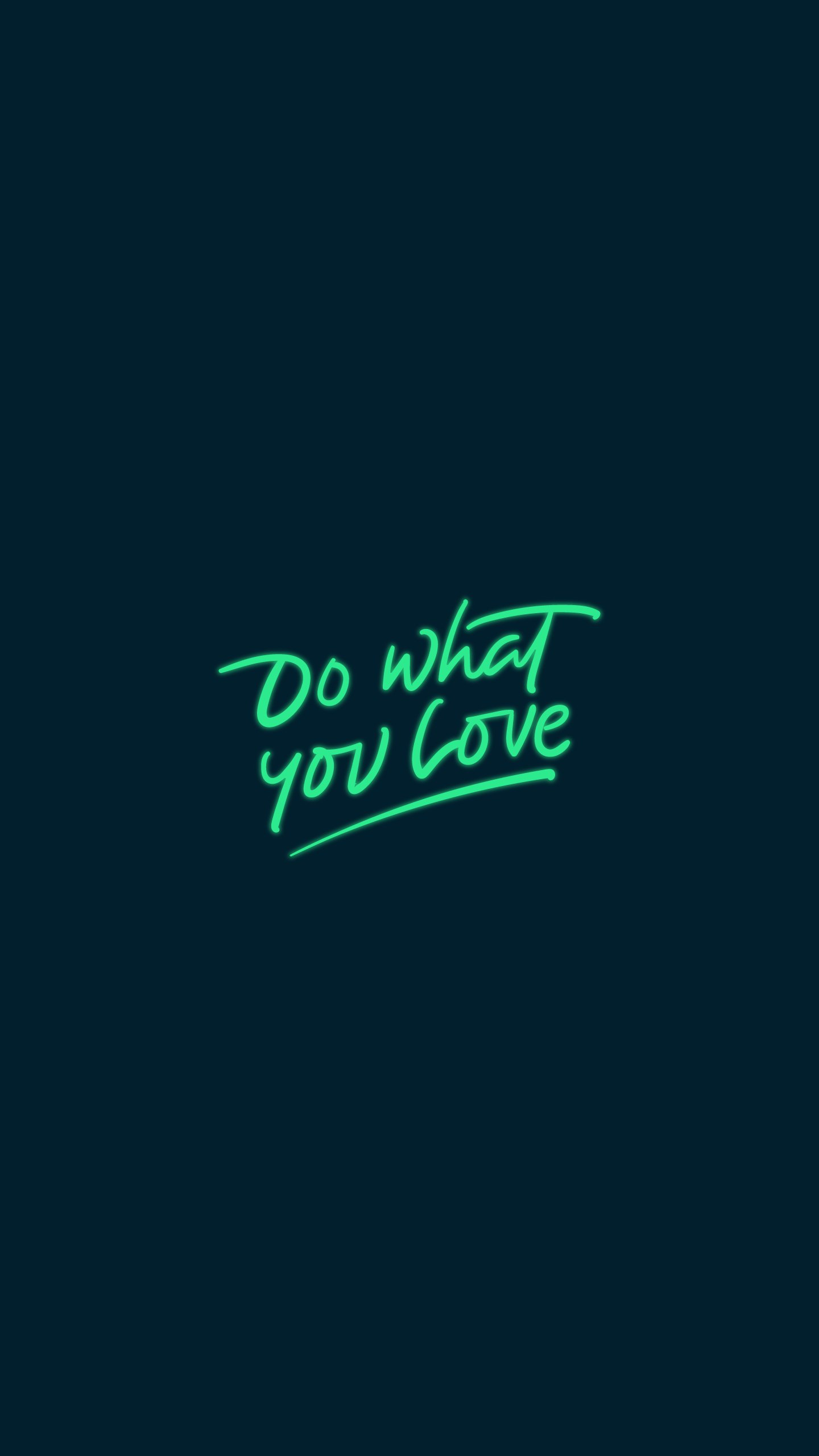 Do What you Love iPhone Wallpaper
