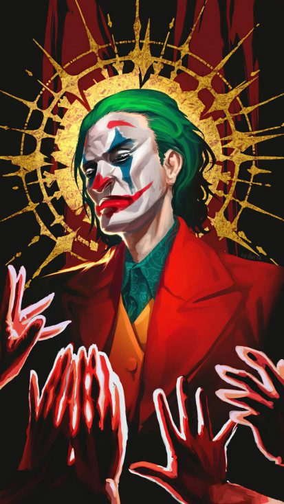 Joker God iPhone Wallpaper