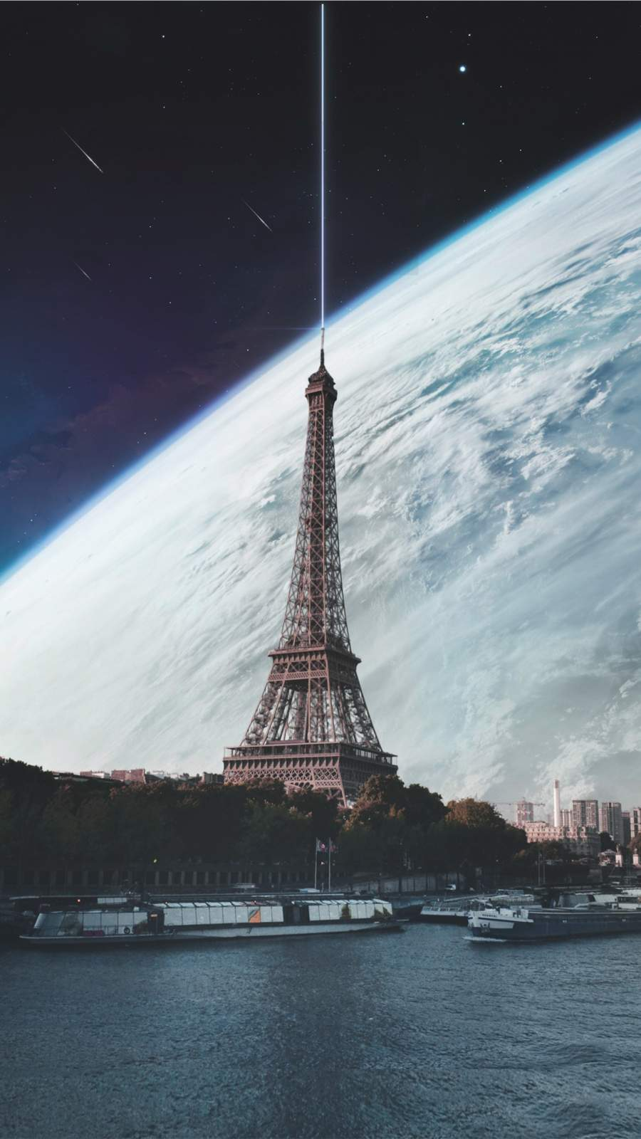 Paris Elysium iPhone Wallpaper