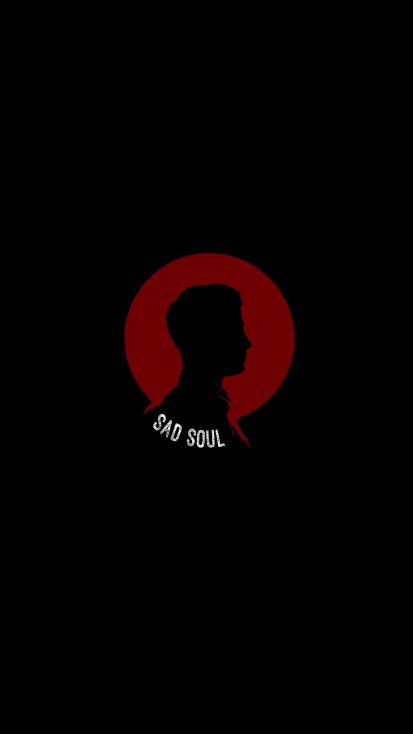 Sad Soul iPhone Wallpaper