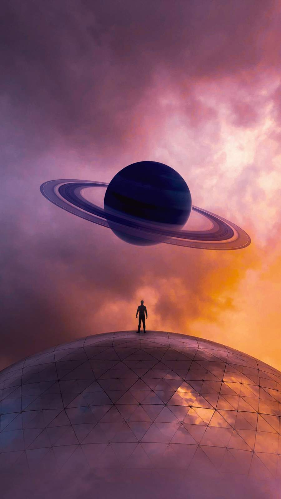 Saturn iPhone Wallpaper